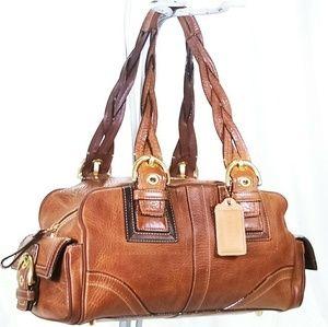 Coach Soho Mia Leather Satchel Handbag